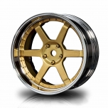 MST Drift S-GD 106 wheels, gold, changable offset (4pcs)
