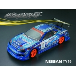 Matrixline Nissan TY15 Silvia 190mm Clear Body w/Accessories
