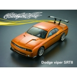 Matrixline Dodge Challenger SRT8 190mm clear body + accessories