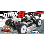 Mugen Seiki MBX8 Worlds Edition 1/8 Off-Road Competition Nitro Buggy Kit