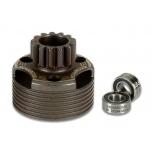 Novarossi clutch bell 14T, clutch bearings 5x10x4 (2)