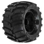 "Proline Masher 3.8"" (Traxxas Style Bead) All Terrain Tires Mounted, 17mm hex, 1/2 offset"