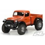 "Proline 1946 Dodge Power Wagon Clear Body for 12.3"" (313mm) Wheelbase Scale Crawlers"