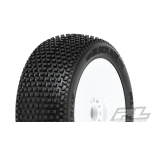 Proline Blockade S3 (Soft), pre-mounted on Velocity V2 white wheels (2)