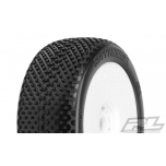 Proline Suppressor X3 (Soft), pre-mounted on V2 White Wheels (2)