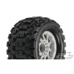 "Proline Badlands MX38 3.8"" (Traxxas Style Bead) All Terrain Tires Mounted"