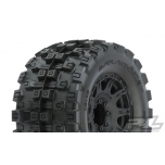 "Proline Badlands MX38 HP 3.8"" All Terrain BELTED rehvid, veljele liimitud (17mm hex) (2tk)"