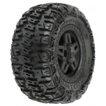 "Proline Trencher 3.8"" (40 Series) All Terrain rehvid, veljele liimitud, 17mm hex, 0 offset"
