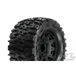 "Proline Trencher 2.8"" All Terrain Tires Mounted on Raid Black 6x30 Removable Hex Wheels"
