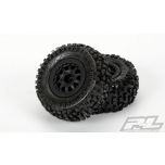 "Pro-Line Badlands SC 2.2""/3.0"" M2 (Medium) Tires Mounted on Renegade wheels"