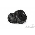 "Pro-Line Trencher X SC 2.2""/3.0"" M2 (Medium) Tires Mounted on Renegade wheels"