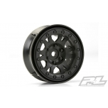 "Proline Impulse 1.9"" Black Plastic Internal Bead-Loc Wheels (2pcs)"