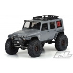 "Proline Jeep Wrangler Unlimited Rubicon Clear Body for 12.3"" (313mm) Wheelbase Scale Crawlers"