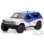 Proline 1981 Ford Bronco Clear Body for Slash 2wd, Slash 4x4 & PRO-Fusion SC 4x4 (requires extended body mounts)
