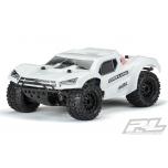 "Proline Pre-Cut Monster Fusion Bash Armor Body (White) for PRO-Fusion SC 4x4, Slash 2wd & Slash 4x4 with 2.8"" MT Tires"