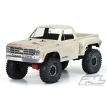 "Proline 1978 Chevy K-10 Clear Body (Cab & Bed) for 12.3"" (313mm) Wheelbase Scale Crawlers"