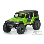 "Proline Jeep Wrangler JL Unlimited Rubicon Clear Body for 12.3"" (313 mm) wheelbase scale crawlers"