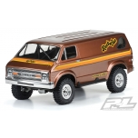 "Proline '70s Rock Van Clear Body (for 12.3"" (313mm) Wheelbase Scale Crawlers)"