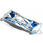 Proline Trifecta 1:8 buggy wing w/ decals, white