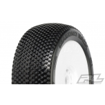 Proline Diamond Back X4 (Super Soft), Mounted on Velocity V2 White Wheels (2)
