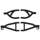 Rear A-arms for the Traxxas 1/16th Scale Mini E-Revo – Black