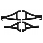 Front upper & lower A-arm Set Traxxas 1/16 E-Revo, Black