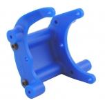 RPM rear Bumper / Wheelie bar mount (Rustler, Slash, Stampede, Bandit 2WD), Blue