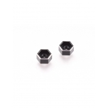 Revolution Design B6/B6.1 Battery Thumb Nuts (black/2pcs)