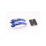 Revolution Design B6/B6.1 Aluminium Wing Mount Set (Blue)