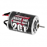 Robitronic Razer 540 Motor 20 Turn Brushed Stock