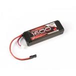 Robitronic LiFe aku vastuvõtjale nitro mudelile 1600mAh 2S 2/3A (EH)