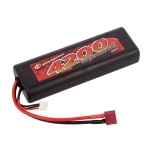Robitronic Hard Case LiPo Battery 4200mAh 2S 40C T-Plug