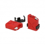 Petrol can with mount, plastic (2 pcs)