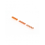 RUDDOG 3mm Washer Set Orange (0.5mm/1.0mm/2.0mm) (4 each)