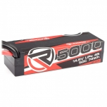 RUDDOG 5000mAh 50C 14.8V kõvakestaga LiPo aku, XT90 pistik