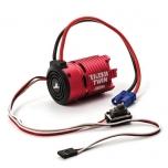 Tazer Twin Brushless Motor/ESC Combo: 2WD, 3000kv