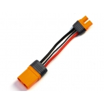 "Adapter: IC3 Device / IC5 Battery, 4""/100mm Wire 10 AWG"