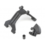 TLR Gear Box/Chassis Brace, Laydown: 22 4.0