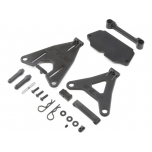 TLR Battery Mount Set: 22 4.0