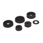 Drive & Differential Pulley Set: 22-4