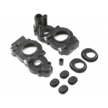 TLR Gear Case Set, 3-Gear Laydown: 22 4.0