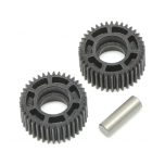 TLR Idler Gear & Shaft, Laydown: 22 4.0/5.0