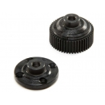 TLR Housing & Cap, G2 Gear Diff: 22