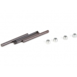 TLR Rear Hinge Pin Set: 22 3.0/4.0