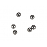 TLR Tungsten Carbide Diff Balls, 2mm (6)