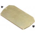 TLR Brass Electronics Mounting Plate, 34g: 22 5.0