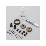 TLR Complete 2wd Gear Diff, Aluminum Gear: All 22