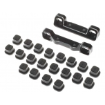 Adjustable Pivot Set, C & D, Black: 22 5.0