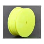 TLR Front Wheel 2WD, 12mm Hex, Yellow (2): 22