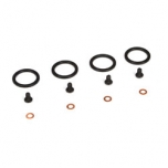 TLR Bleeder Shock Cap Screw & Washers( 4): 22 / 22T / 22-4 / 8X